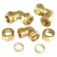 Brass Equal Elbows