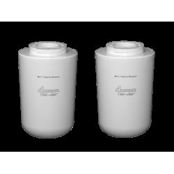 2 x Amana Clean & Clear Internal Fridge Water Filter 1252730