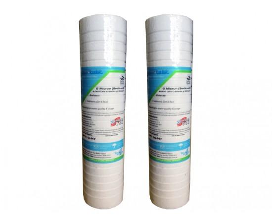"""Aqua-Pure AP110 Compatible Sediment Water Filter Twin Pack 10"""""""