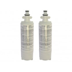2 x Beko 4874960100 Genuine Fridge Water Filter Internal