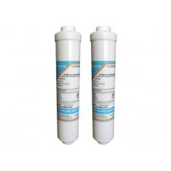 2 x Samsung DA29-10105J Compatible External Fridge Water Filter
