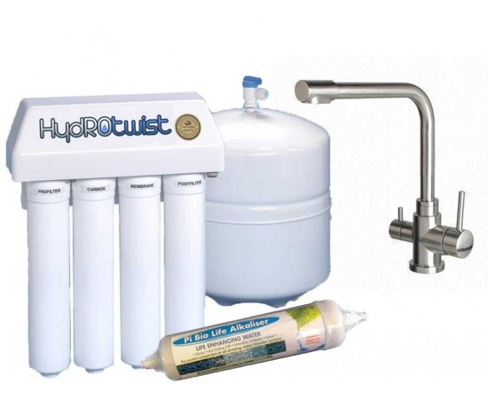 HydROtwist 5 Stage Reverse Osmosis Purifier & 3 Way Mixer Ta