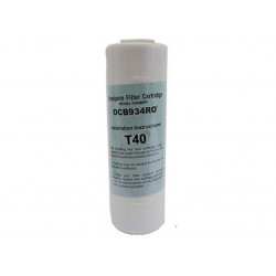 HydROtwst T40 GAC Granular Activated Carbon Water Filter 10""
