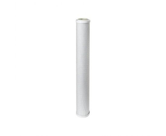 "Slim Coconut Carbon Block Water Filter 10 Micron 20"" x 2.5"""