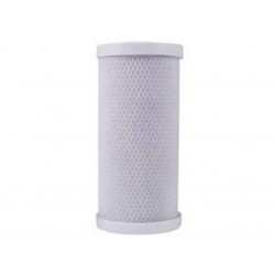 Premium Big White Big Blue 20 Micron Carbon Block Filter 10""