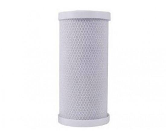 "Premium Big White Big Blue 20 Micron Carbon Block Filter 10"""