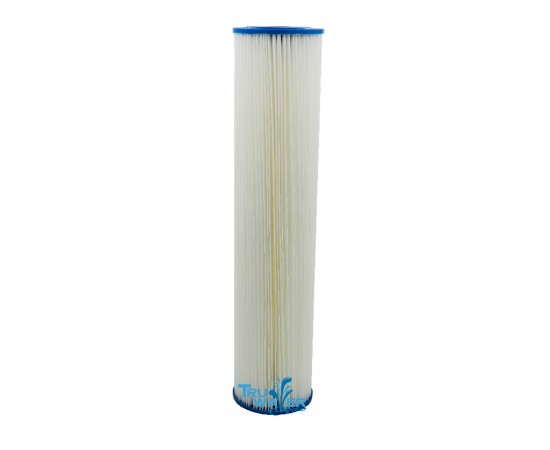 Big White BigBlue Pleated Sediment Pre Filter 20 Micron 20""