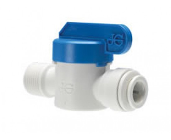 "John Guest 1/4"" Thread 1/4"" Tube Ball Valve Speedfit PPSV010822W"