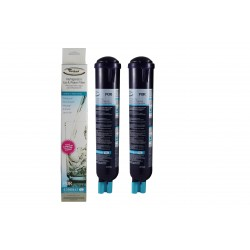 2 x Whirlpool 4396841 Genuine PUR Internal Fridge Water Filter