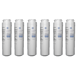 6 x GE Genuine MSWF SmartWater Slim Internal Fridge Water Filter