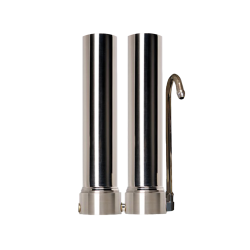 """Doulton Twin Stainless Steel Countertop Water Filter System 10"""""""