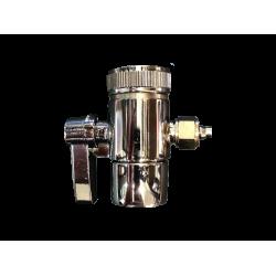 """Countertop Diverter Valve Brass Side Lever 3/8"""" Compression Fit"""