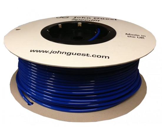 "John Guest 1/4"" Tubing High Pressure Red 152 Metres (Roll)"