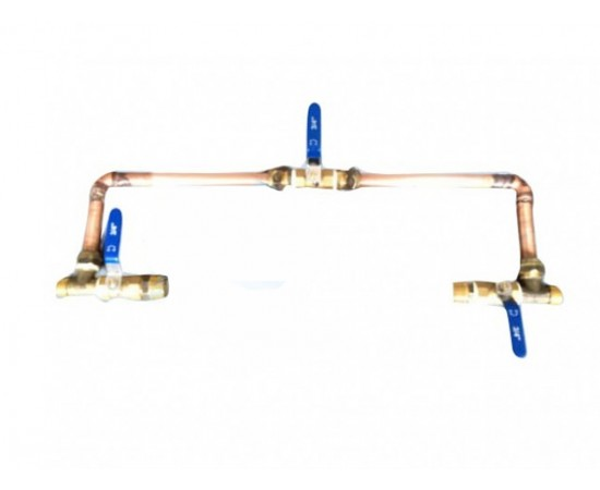 """1/2"""" Water Filter Bypass Kit - Suit Twin 20"""" Big White/Big Blue"""
