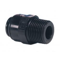 "John Guest 12mm x 1/2"" BSP Straight Adaptor Male PM011214E"