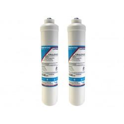 2 x LG 3890JC2990A External In Line Fridge Water Filter
