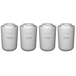 4 x Amana 12527304 Clean & Clear Compatible Fridge Water Fil