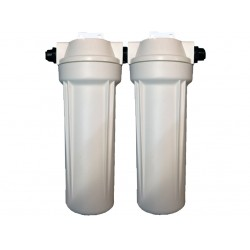 Twin Caravan RV Water Filter System - 12mm Quick Connect