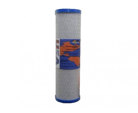 "HydROtwist USA 1 Micron Carbon Block Water Filter XSC3CB 10"""
