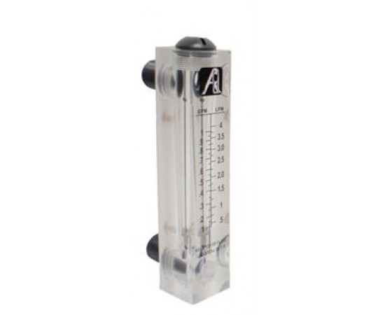 Water Flow Meter 0.1 - 1 GPM 0.5-4 Litres Per Minute FM-1