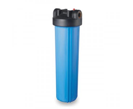 "20"" Big Blue HP Filter Housing 1"" Ports High Flow"