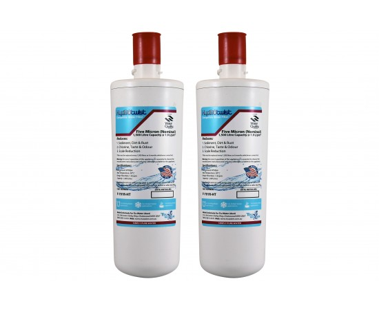 HydROtwist F-701R Insinkerator Compatible Water Filter Twin Pack