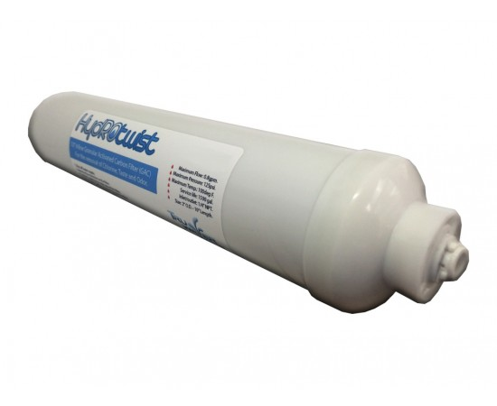 HydROtwist CL10RO-T40 GAC Inline Reverse Osmosis Water Filter