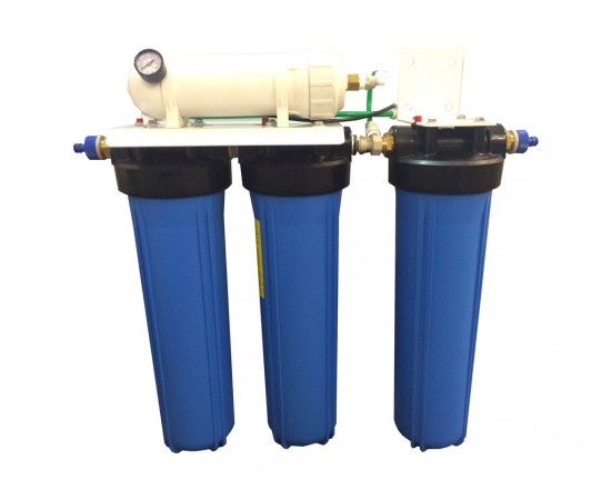 Premium 4 Stage High Flow Reverse Osmosis Di System 600GPD