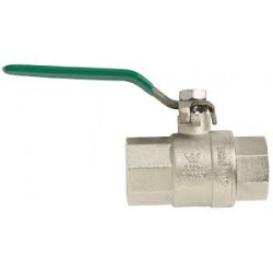 "Ball Valve Female x Female R/C 1"" 1210406 Gas & Water"