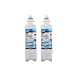2 x Beko 4874960100 Compatible Fridge Water Filter Internal