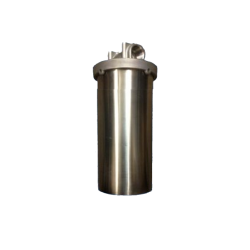"""Single Whole House Tank Rain Water Filter System 10"""" Stainless"""