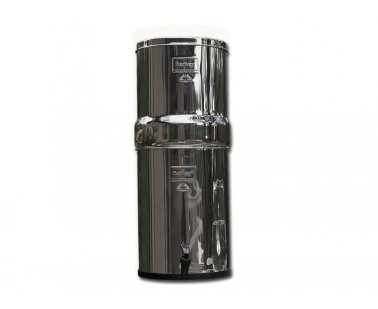 Big Berkey Stainless Steel Water Filter System Urn Black 8L