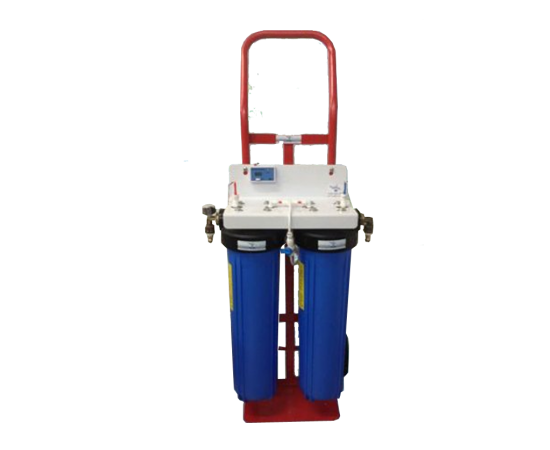 Twin Trolley Window Cleaning Water Filter System Big Blue Di 20""