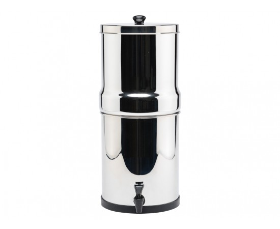 Stainless Steel 12L Gravity Water Filter Royal Purification Urn