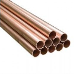 """15mm (1/2"""") Copper Pipe/Tube 1.5m"""
