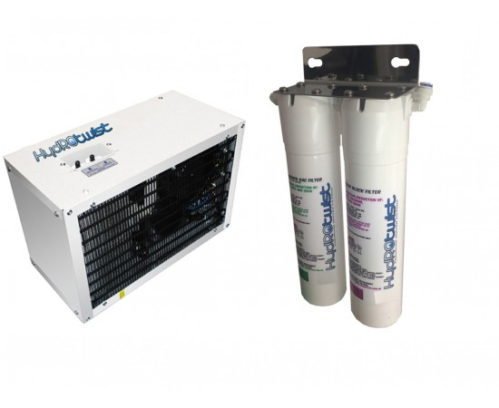 IC8 Under Sink Water Chiller & HydRotwist Twin Water Filter