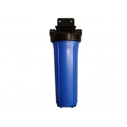 "Single DI Resin Water Filter System 20"" x 4.5"" Big Blue"