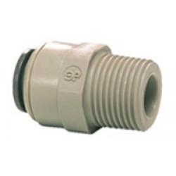 3/16 Tube x 1/8 Taper Thread Male BSPT PI010601S