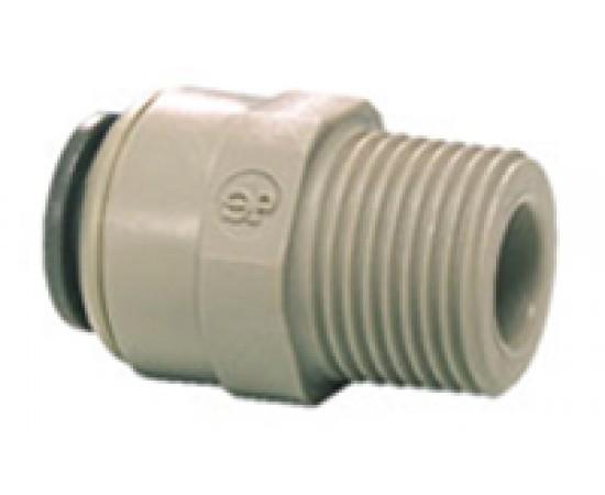 3/8 Tube x 1/4 Taper Thread Male BSPT PI011202S