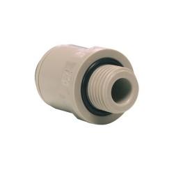 3/8 Tube x 1/4 Parallel Thread Male BSP PI011212S