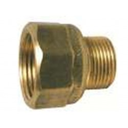 "No 72 Male x Female Brass Adaptor 1/2"" BSP x 3/8"" BSPT"