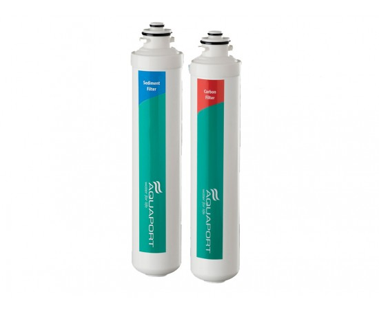 Aquaport AQP-RFM2 M Series 2 Stage Water Filter Set Suit AQPFKM2