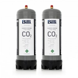 Billi Sparkling 996912 Replacement CO2 Cylinders – 2 Pack (Twin)