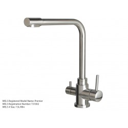 3 Three Way Mixer Tap Hot Cold & Pure 304 Stainless Steel Ta