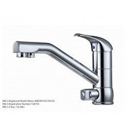 3 Three Way Flick Mixer Hot Cold Filtered Water Tap Chrome