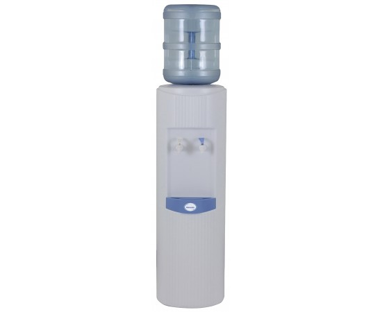 Glacier Series Floorstanding Bottle Type Water Cooler White