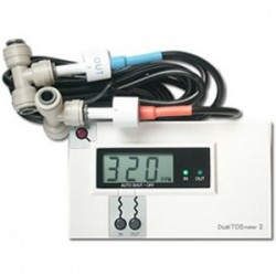 HM Digital Commercial Dual TDS Meter Monitors In & Out DM-2