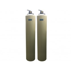 Whole House Point of Entry (POE) Twin Vessel Carbon Water Filter