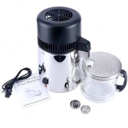 HydROtwist Steam Purifier Distiller Stainless With Glass Bottle