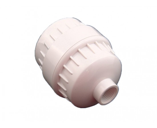 HydROtwist White Shower Filter Chlorine Healthy Hair & Skin